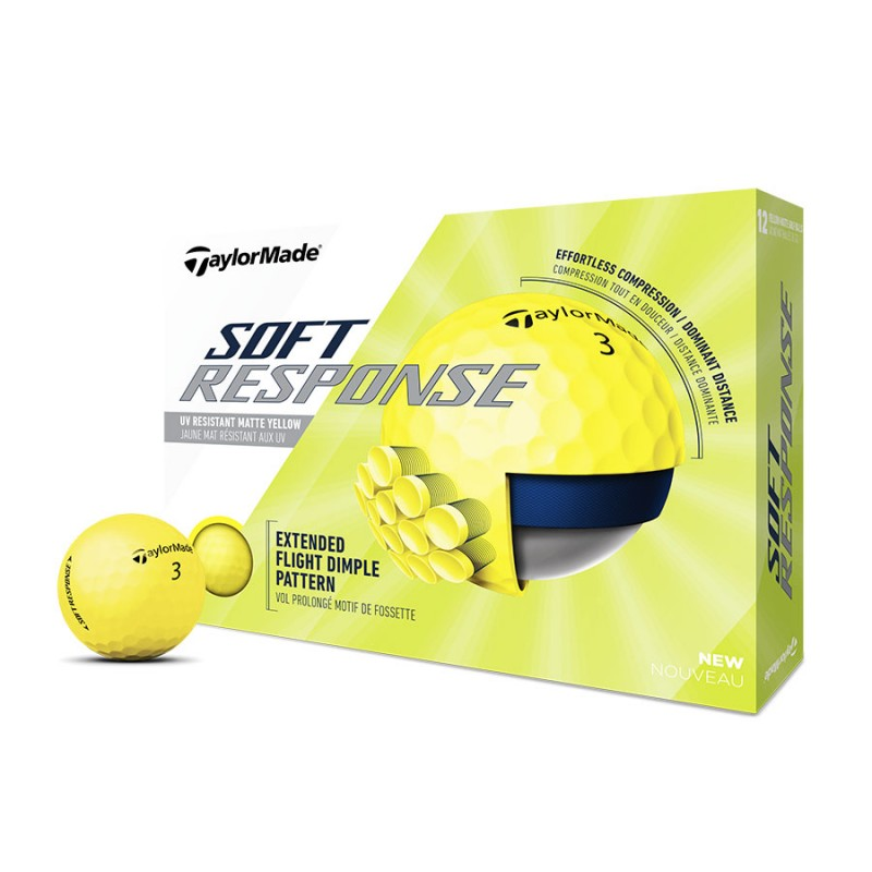 Prix Balles TaylorMade Soft Response x12