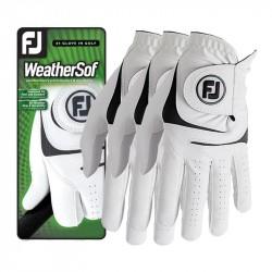 Pack de 3 Gants Foottjoy WeatherSof
