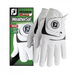 Pack de 2 Gants Foottjoy WeatherSof