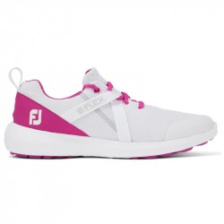 Chaussure Femme Footjoy Flex M Blanc/Rose