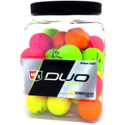 Pack Balles Wilson Staff Duo Optix X36