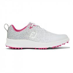 Chaussure Femme Footjoy Leisure M Gris/Blanc