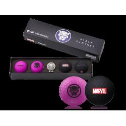 Coffret Balles Volvik Vivid Marvel Black Panther x4