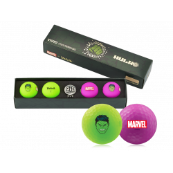 Coffret Balles Volvik Vivid Marvel Hulk x4