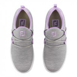 Prix Chaussure Femme Footjoy Leisure Slip On M Gris/Violet