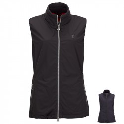 Veste Sans Manches Femme Golfino Windprotection Premium