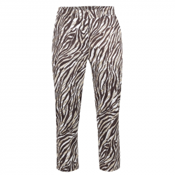 Pantalon Femme Golfino African Safari Marron