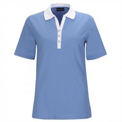 Polo Femme Golfino Palm Beach Bleu