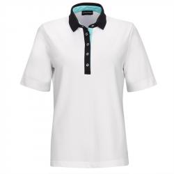 Polo Femme Golfino Performance Trend 2 Blanc