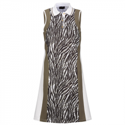 Robe Femme Golfino African Safari Marron