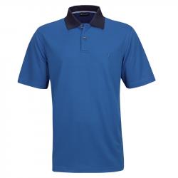 Polo Golfino Dobby Bleu