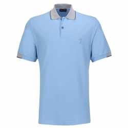 Polo Golfino Splash Bleu Ciel
