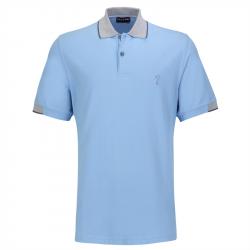 Polo Golfino Splash Bleu Ciel