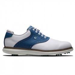 Chaussure Footjoy Traditions M Blanc/Bleu