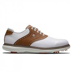 Chaussure Footjoy Traditions M Blanc/Marron