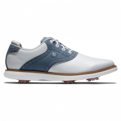 Chaussure Femme Footjoy Traditions Blanc/Bleu