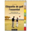 """Livre """"Étiquette de golf l'essentiel"""""""