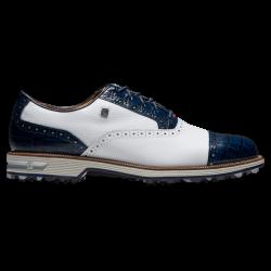 Chaussure Footjoy DryJoys Premiere Series Tarlow Blanc/Bleu