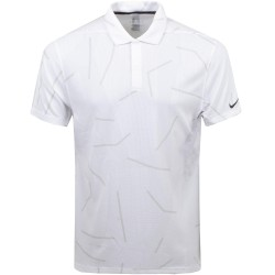 Polo Nike Dri-FIT Tiger Woods Blanc