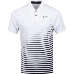 Polo Nike Dri-FIT Vapor Blanc
