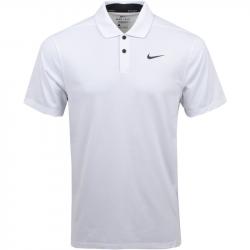 Polo Nike Dri-FIT Vapor Texture Blanc