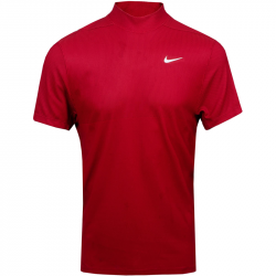 Polo Nike Dri-FIT Tiger Woods Rouge