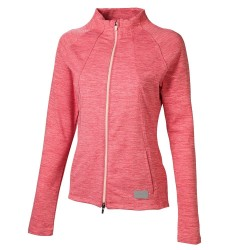 Veste Femme Puma CloudSpun Warm-Up Rose