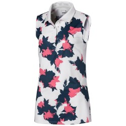 Polo Sans Manches Junior Puma Floral