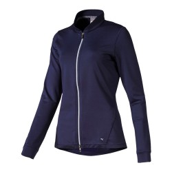 Veste Femme Puma Full Zip Bleu Marine