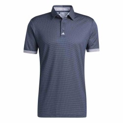 Polo Adidas Two-Tone Mesh Bleu Marine
