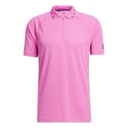 Polo Adidas Equipment Zip Pique Rose