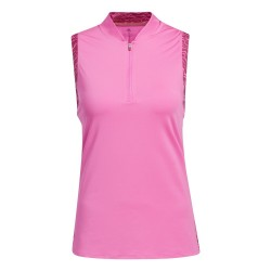 Polo Sans Manches Femme Adidas Ultimate365 Rose
