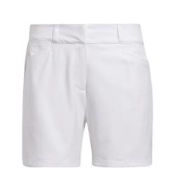 Bermuda Femme Adidas Solid Primegreen Blanc