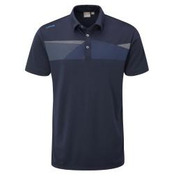 Polo Ping Holten Bleu Marine