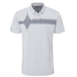 Polo Ping Frequency Gris Clair