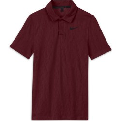 Polo Junior Nike Dri-FIT Tiger Woods Rouge