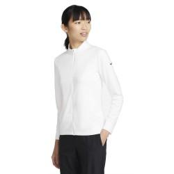 Haut Manches Longues Femme Nike Dri-FIT UV Victory Blanc