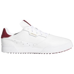 Chaussure Adidas Adricross Retro Blanc/Bordeau