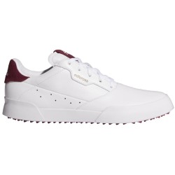 Chaussure Femme Adidas Adicross Retro Blanc/Bordeau