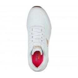 Promo Chaussure Femme Skechers Skech-Air Blanc