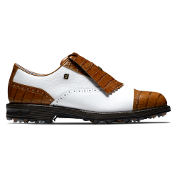Chaussure Footjoy DryJoys Premiere Series Tarlow M Edition Limitee Blanc/Marron