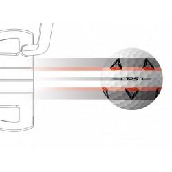 Alignement Balles TaylorMade TP5 Pix x12