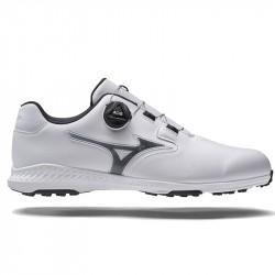 Chaussure Mizuno NexLite GS Spikeless BOA Blanc