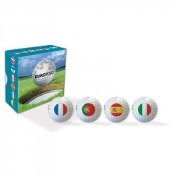 Coffret Balles Volvik PowerSoft Euro 2020