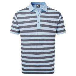 Polo Footjoy Stretch Pique Rugby Bleu