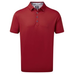 Polo Footjoy Stretch Pique Rouge