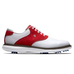 Chaussure Footjoy Traditions M Blanc/Rouge