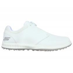 Chaussure Femme Skechers Go Golf Elite V3 Twist Blanc