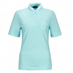 Polo Femme Golfino Holidays Dreams Bleu Ciel