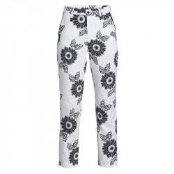 Pantalon Femme Rohnisch 7/8 Kia Blanc/Noir